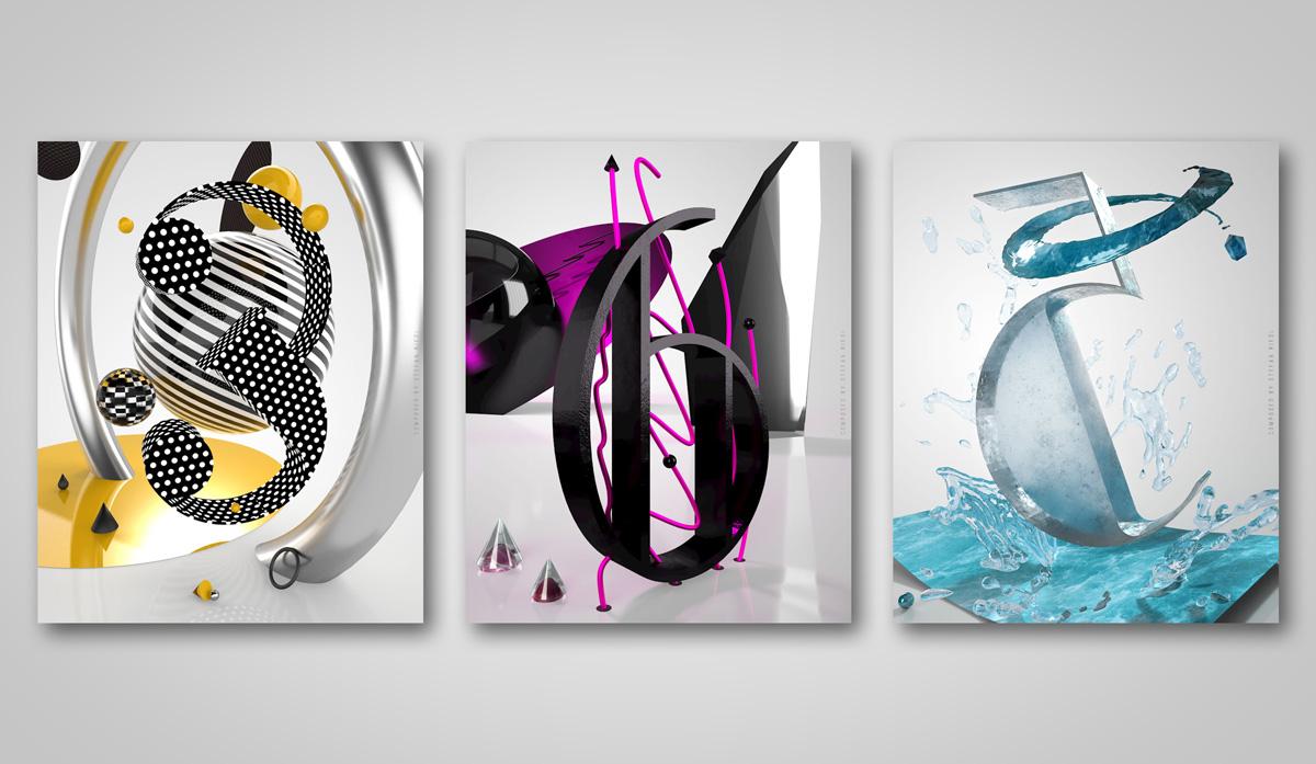 '365' – Creative Artwork mit Adobe Dimension: 3D trifft auf Typografie