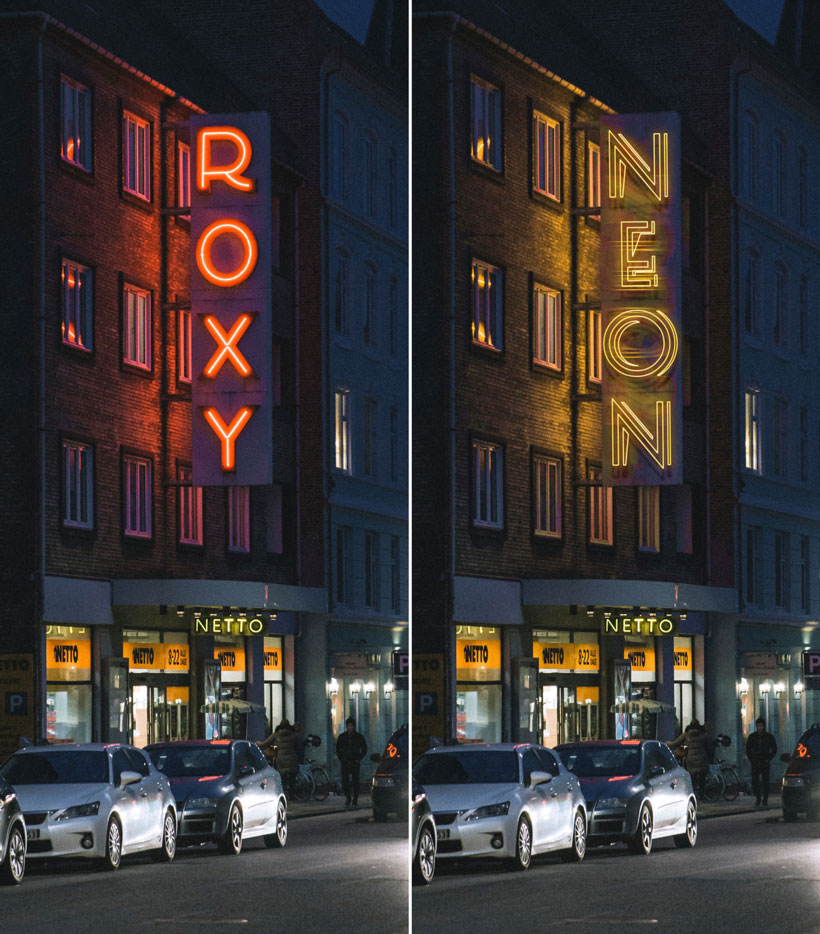 photoshop-neon-style-preset-downloaden